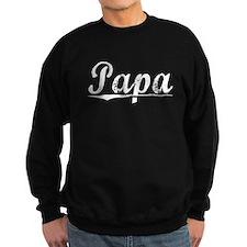 Papa, Vintage Sweatshirt