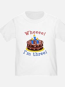 Whee! I'm Three T
