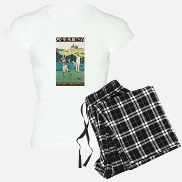 Vintage Golf Ball Pajamas