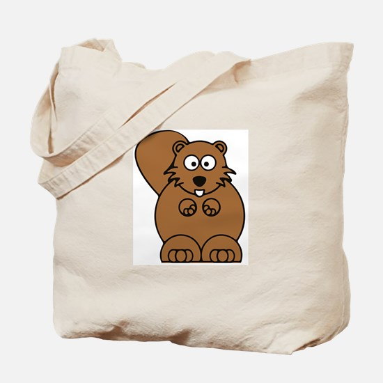 Front facing beaver Tote Bag