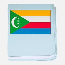 Comoros - National Flag - Current baby blanket