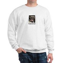 PUGS ARE REALLY ALIENS Sweatshirt