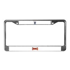 PUGS ARE REALLY ALIENS License Plate Frame