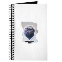 PUGS ARE REALLY ALIENS Journal