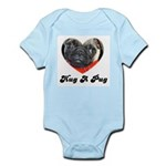 PUGS ARE REALLY ALIENS Infant Creeper
