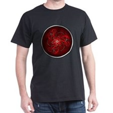 Red Triple Celtic Dragons T-Shirt