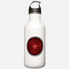 Red Triple Celtic Dragons Water Bottle