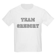 TEAM GREGORY Kids T-Shirt