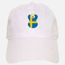 Swedish Flag Angel Blonde Hair Baseball Baseball Cap