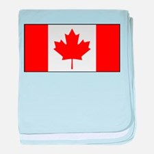 Canada - National Flag - Current baby blanket