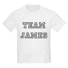 TEAM JAMES Kids T-Shirt