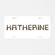 Katherine Circuit Aluminum License Plate