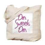 Om Sweet Om (Pink) Tote Bag