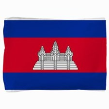 Cambodia - National Flag - Current Pillow Sham