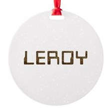 Leroy Circuit Ornament