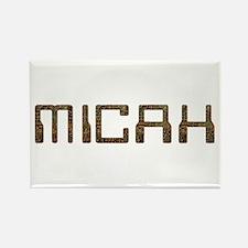 Micah Circuit Rectangle Magnet