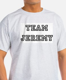 TEAM JEREMY Ash Grey T-Shirt