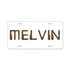 Melvin Circuit Aluminum License Plate