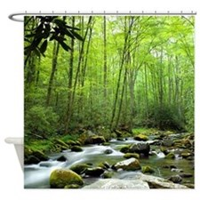nature shower curtains nature fabric shower curtain liner