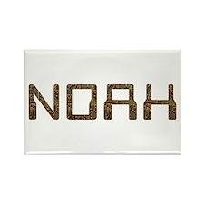 Noah Circuit Rectangle Magnet