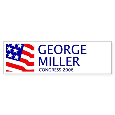 Miller 06 Bumper Sticker