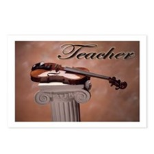 """Music Teacher Violin"" Postcards (Package of 8)"