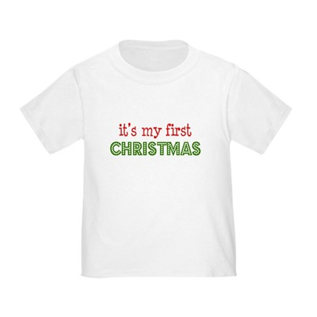 It's My First Christmas Toddler T-Shirt