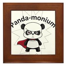 PandaMonium Framed Tile