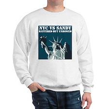Hurricane Sandy Vs New York City Sweatshirt