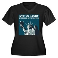 Hurricane Sandy Vs New York City Women's Plus Size
