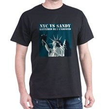 Hurricane Sandy Vs New York City T-Shirt