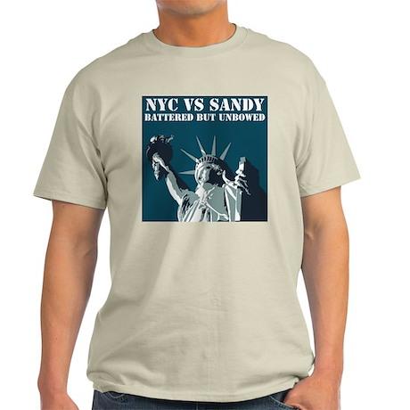 Hurricane Sandy Vs New York City Light T-Shirt