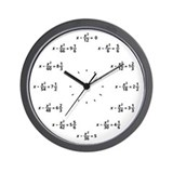 Equation clock Wall Clocks