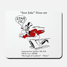 Just Jake Noseart Mousepad