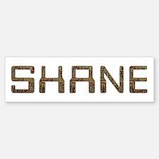 Shane Circuit Bumper Bumper Bumper Sticker