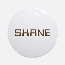 Shane Circuit Round Ornament