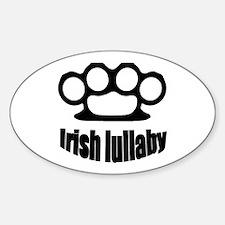 Irish lullaby Sticker (Oval)