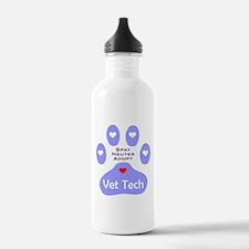 Vet Tech Adopt Paw 11 Water Bottle