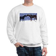 Snow Horse Friends Sweatshirt