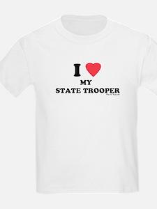 I LOVE MY STATE TROOPER T-Shirt