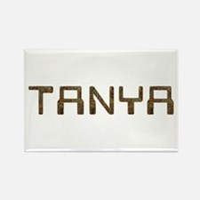 Tanya Circuit Rectangle Magnet