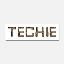 Techie Circuit 10x3 Car Magnet