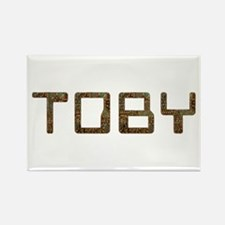Toby Circuit Rectangle Magnet
