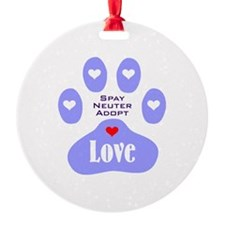 Paw Of Love Ornament