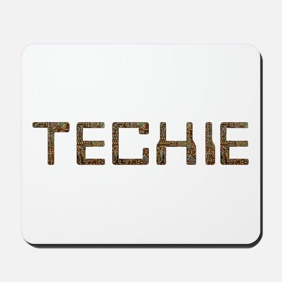 Techie Circuit Mousepad