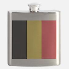 Belgium - National Flag - Current Flask