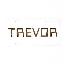 Trevor Circuit Aluminum License Plate