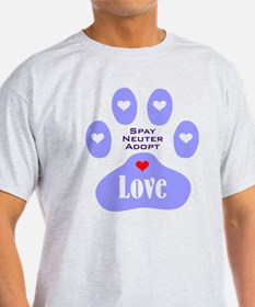 Paw Of Love T-Shirt