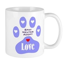 Paw Of Love Mug