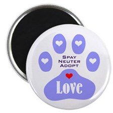 Paw Of Love Magnet